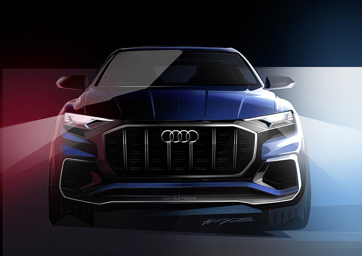 KONSEPTBIL: Aui Q8 Blir Den Spydspissen For Audis Q–modeller. Pressefoto