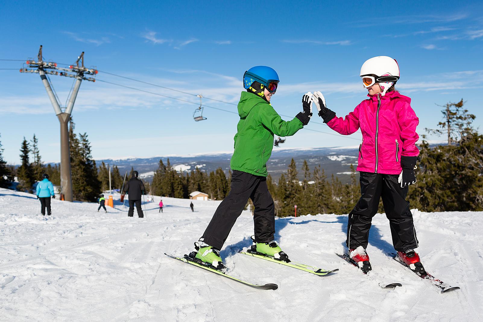 Vinterferie Med Eller Uten Ski På Beina