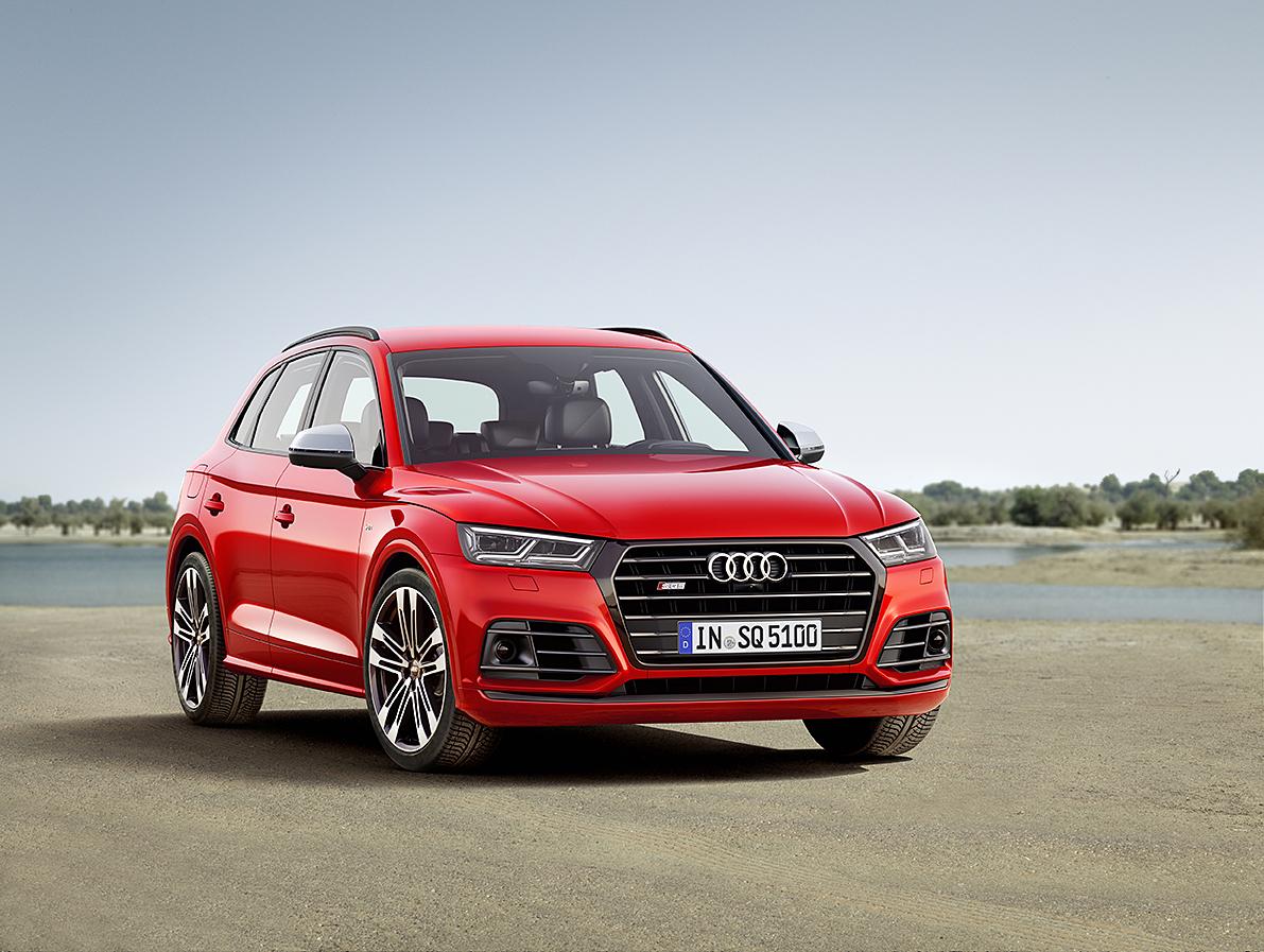 Audi SQ5 Vises Frem For Første Gang