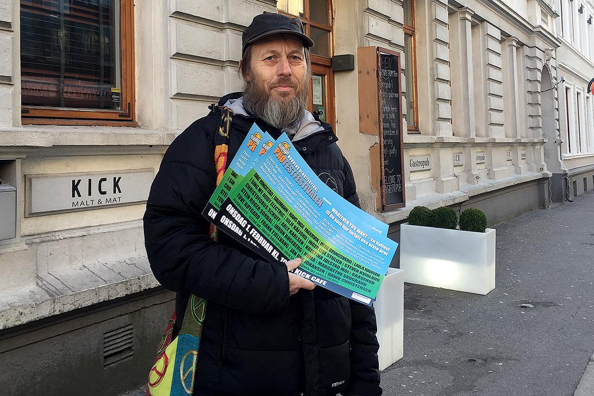 MINNEKONSERT: Sven Inge Olsen Og Protestfestivalen Inviterer Til Minnekonsert For Artistene Som Ikke Ble Med Inn I 2017. Foto: Svein Kristiansen