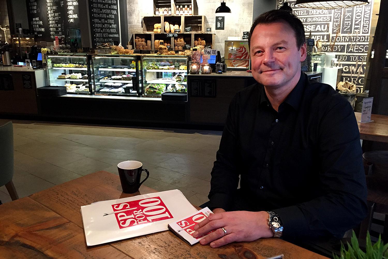 INVITERER TIL SØRLANDETS MATFESTIVAL: Prosjektleder Henning Vestavik Inviterer For Syvende Gang Til «Spis For 100» I Kristiansand. Foto: Svein Kristiansen