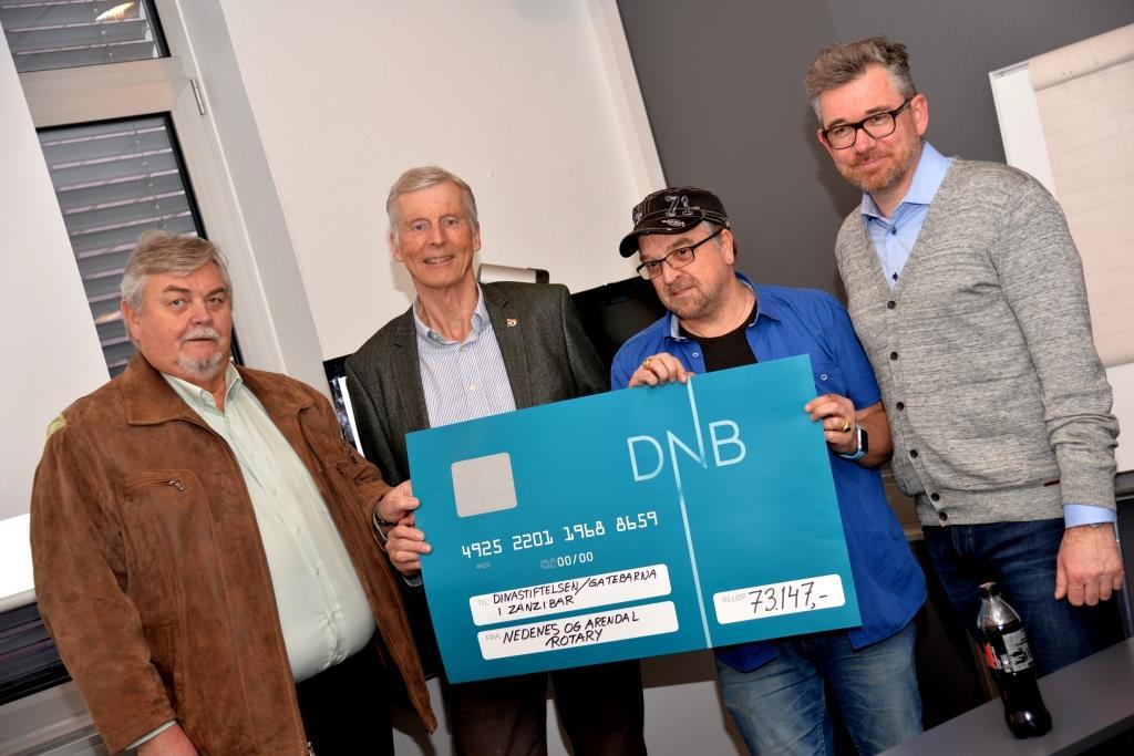 Støttekonsert Ga 73 000 Kroner Til Gatebarn