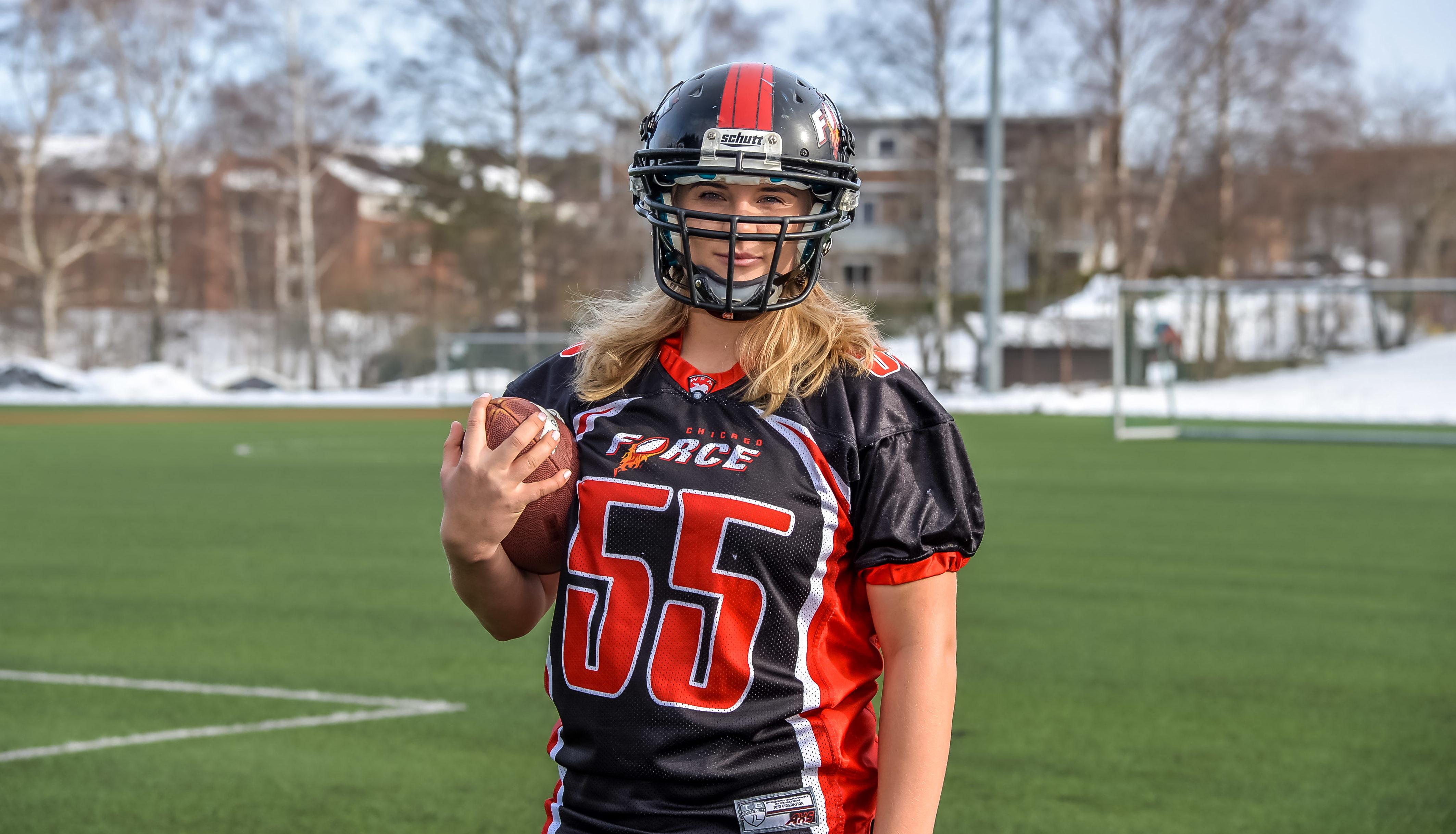 PÅ USAS LANDSLAG: Kristiansandsjenta Sonja Drangsholt Er Tatt Ut Til å Representere USA I VM. Foto: Valentina Hoxhaj