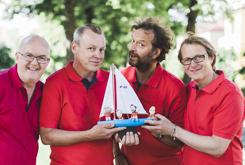 RØPER SISTE HEADLINER: DeLillos Skal Spille På LillesandsDae'enes Jubileumskonsert. Foto: Michaela Klouda