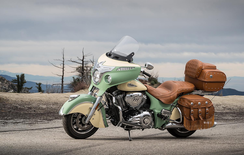 INDIAN ROADMASTER: Motorsykkelen Har En Motor Som Sparker Godt Ifra Seg Med Sine Hele 1811 Kubikk Og Innsprøytning. Pressefoto