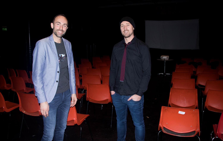 IDÉSKAPERNE: Rikard Amodei Og Alexander De Senge Er Hjernene Bakom YouTube-serien «Sunday Crew». Foto: Svein Kristiansen