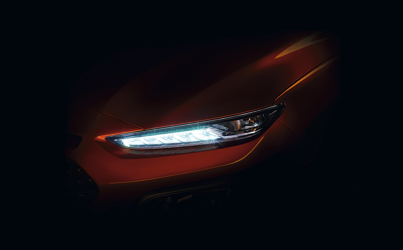 NY KOMPAKT-SUV: En Smak Av Hyundais Nye Kompakt-SUV, Kona. Pressefoto.