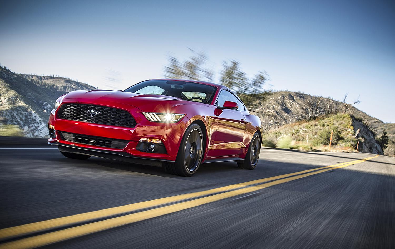 POPULÆR SPORTSBIL: Ford Mustang Har Lenge Vært Den Mest Solgte Sportsbilen I USA, Nå Selger Den Også Unna I Resten Av Verden. Foto: Ford Motor Norge