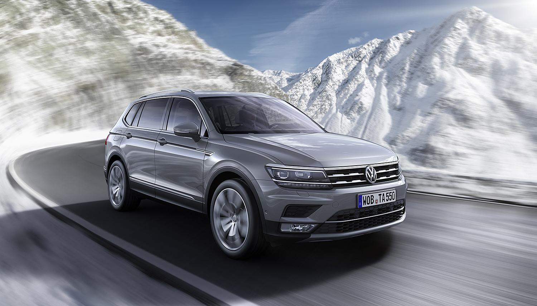 TIGUAN ALLSPACE: Den Nye Varianten Skal I Følge Volkswagen Komme På Markedet I November I år. Foto: Volkswagen