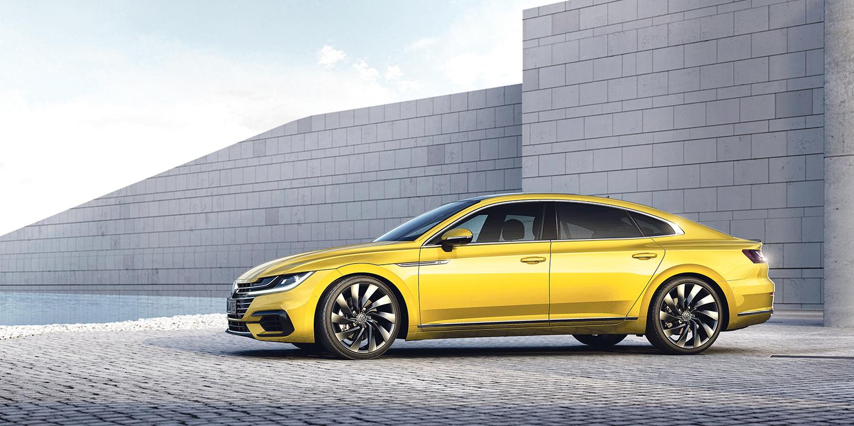 KOMMER TIL SOMMEREN: Volkswagen Arteon Kommer Til Norge Allerede I Sommer. Foto: Volkswagen Norge