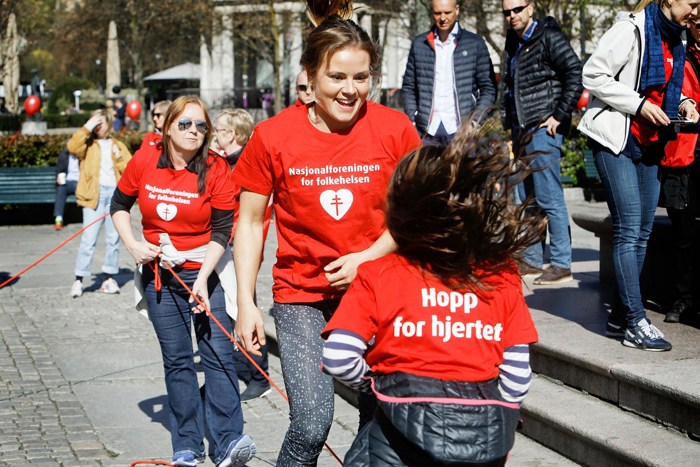 HOPPETAUKONKURRANSE: 6751 Barn I Agder Har Deltatt I Nasjonalforeningen For Folkehelses Hoppetaukonkurranse I Mai. Foto: Paal Audestad