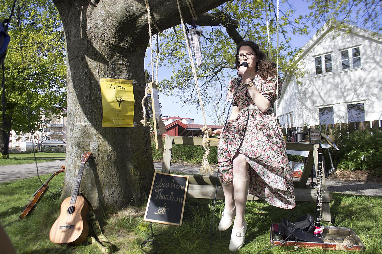 TREKONSERT: Tvillingsøstrene Renate Og Susanne Thauland Har Holdt Konsert I Et Tre De Tre Siste årene. Foto: Fabio Paulsen Dahl