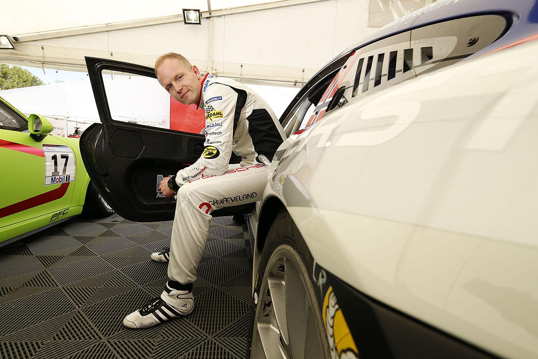 F1-SUPPORT: Roar Lindland Fra Lyngdal Porsche Cup I Monaco I Helgen. Pressefoto.