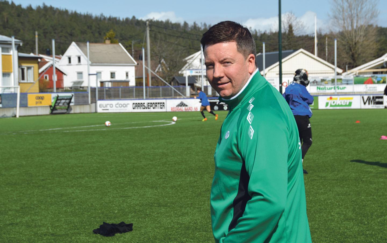 AMBIØS: – Vi Skal Kjempe I Toppen I år, Sier Tommy Egeli. Foto: Ivar Eidsaa