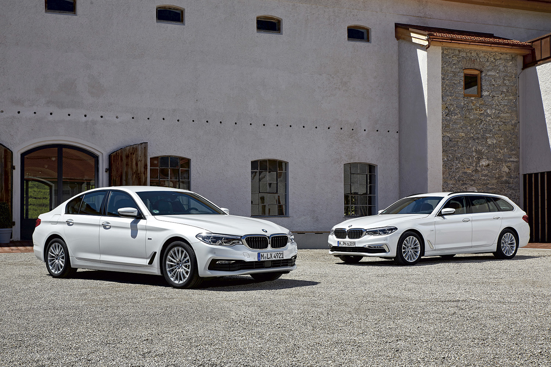 NY SERIE: Helt Nye BMW 5-serie Touring Har Akkurat Fått Norsk Asfalt Under Hjulene. Pressefoto