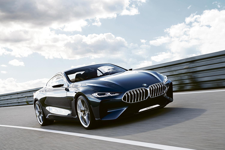 NY BILSERIE: Konseptbilen BMW Concept 8-serie Er En Forsmak På Hva Som Venter Når Helt Nye BMW 8-serie Coupé Får Asfalt Under Hjulene Neste år. Pressefoto