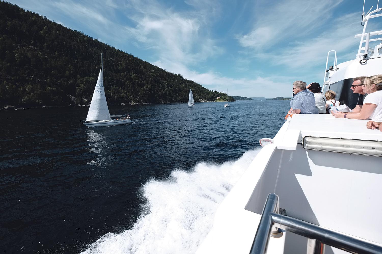 ORIGINALE NAVN: Populærkultur Inspirerer Nordmenn Til å Gi Fritidsbåtene Sine Fantasifulle Og Originale Navn. Foto: IF