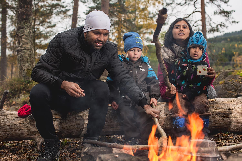 BÅLKOS: Bålsesongen Er I Gang, Og Norsk Friluftsliv Oppfordrer Til å Ta Middagen Ute. Foto: Joe Urrutia