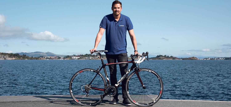 Ole Martin Ølmheim, Gründer Av BikeFinder, Tror Den Nye Sporingsenheten Kan Bli Sykkeltyvenes Verste Fiende. Pressefoto