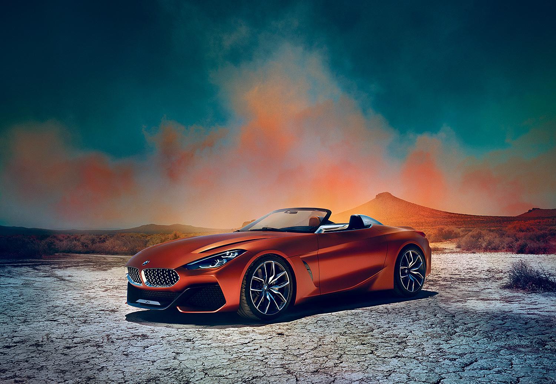 Her Er Helt Nye BMW Concept Z4