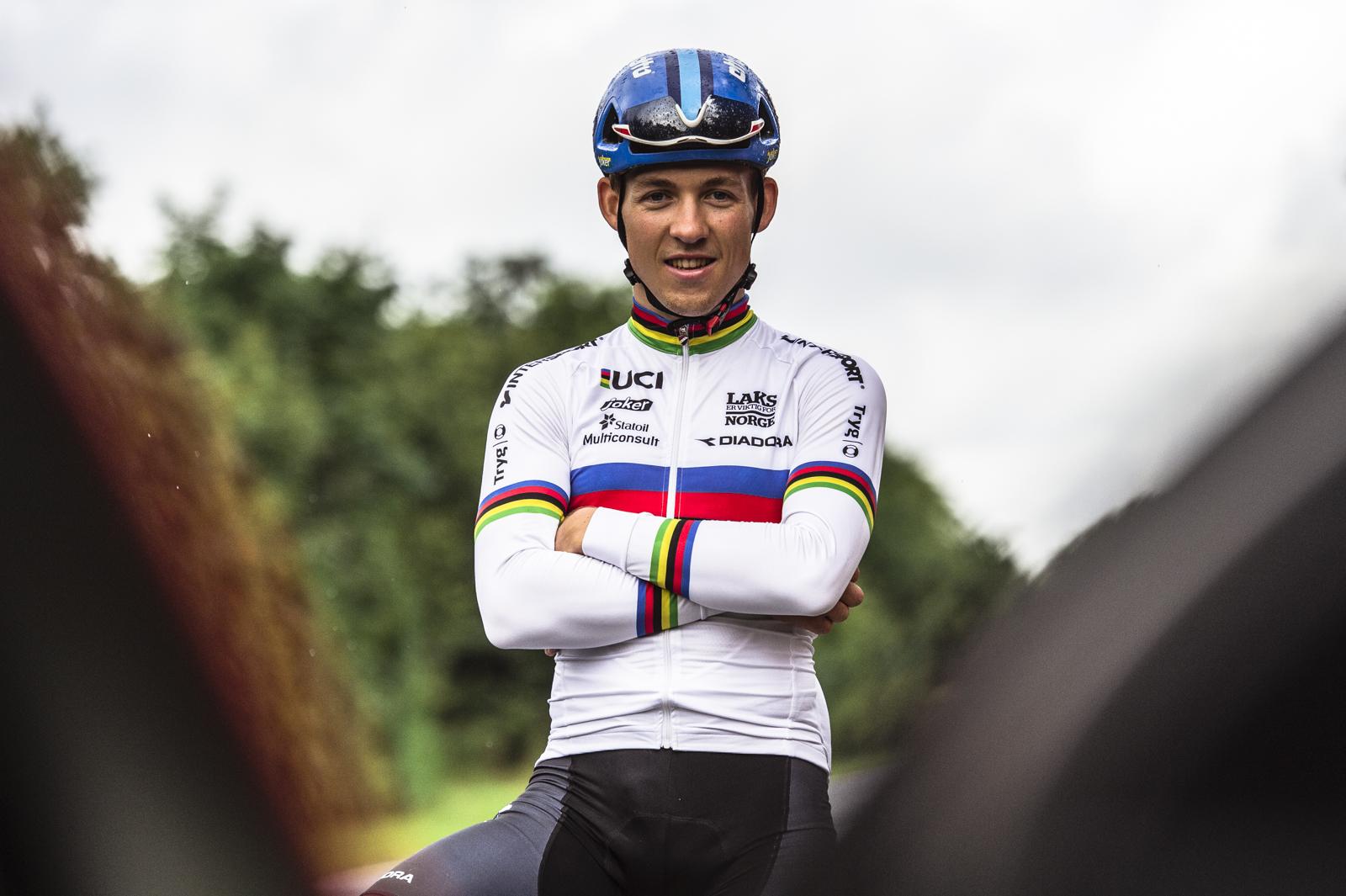SOLIDE RESULTATER: Tjueenårige Kristoffer Halvorsen Imponerer Stort I Ungdommens Tour De France. Foto: Kåre Dehlie Thorstad