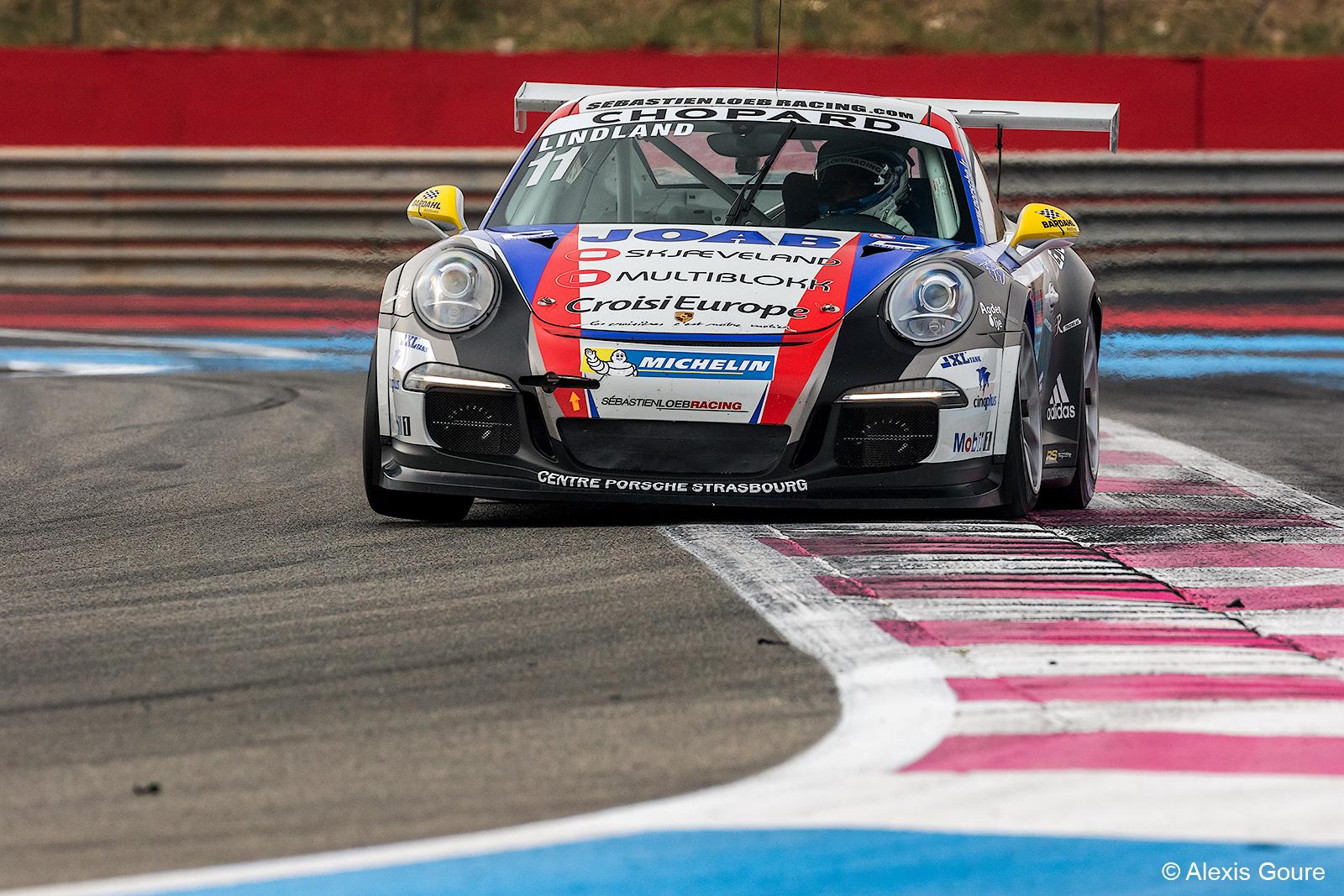 Lindland På Tredjeplass Sammenlagt I Den Franske Porsche Carrera Cup-en