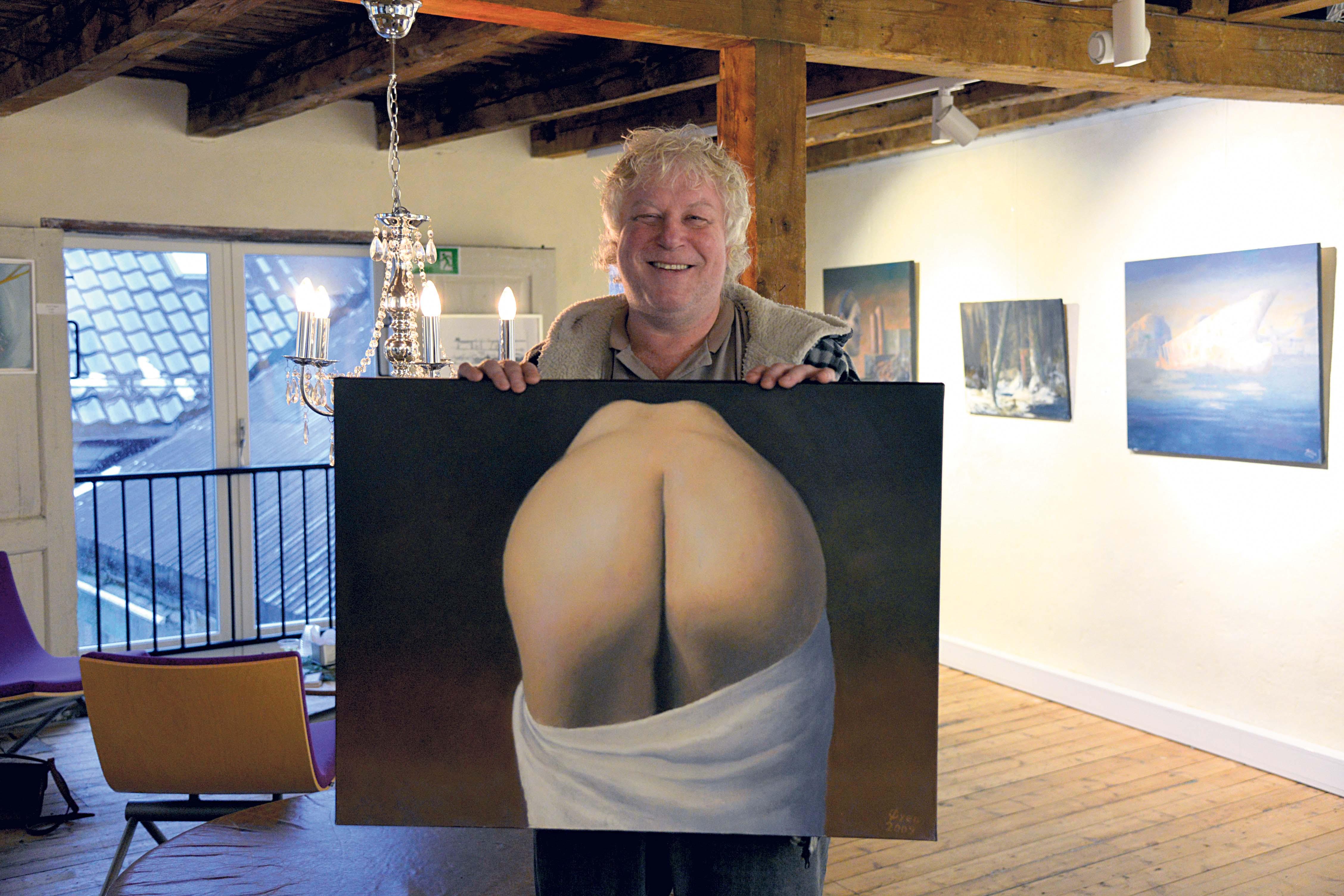 RUMPA: - En Rumpe Er God å Ha, Og Fortjener Et Portrett, Mener Kunstneren.
