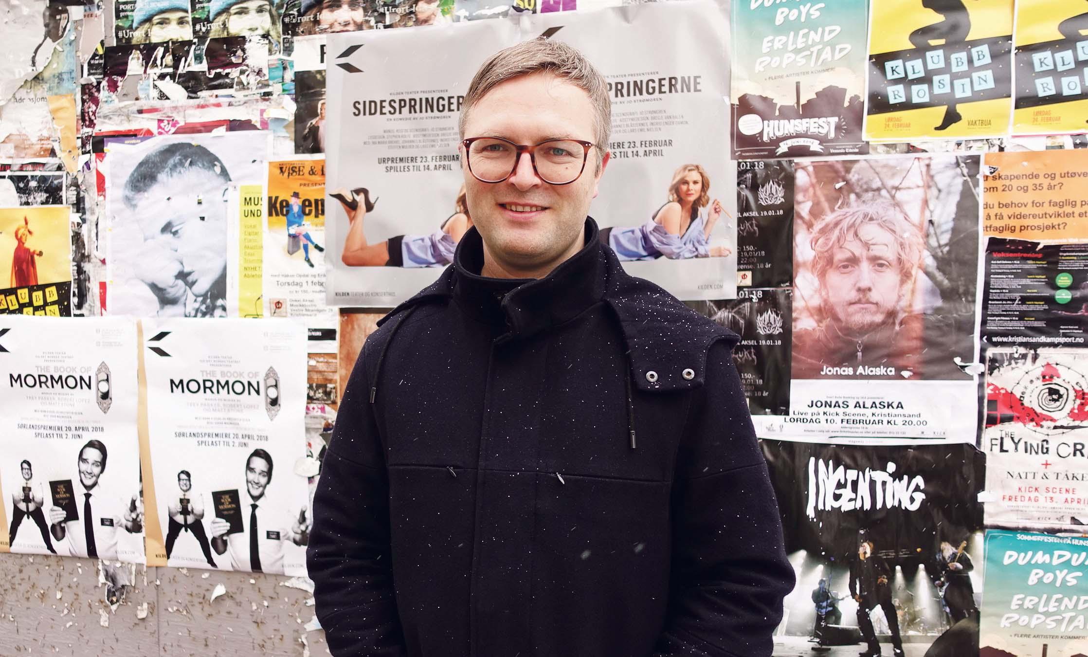 UTNYTTER BRUKERDATA: Mads Hatlevik Har Laget En Webtjeneste Som Bedre Utnytter Brukernes Atferd På Nett, For å Selge Flere Billetter.