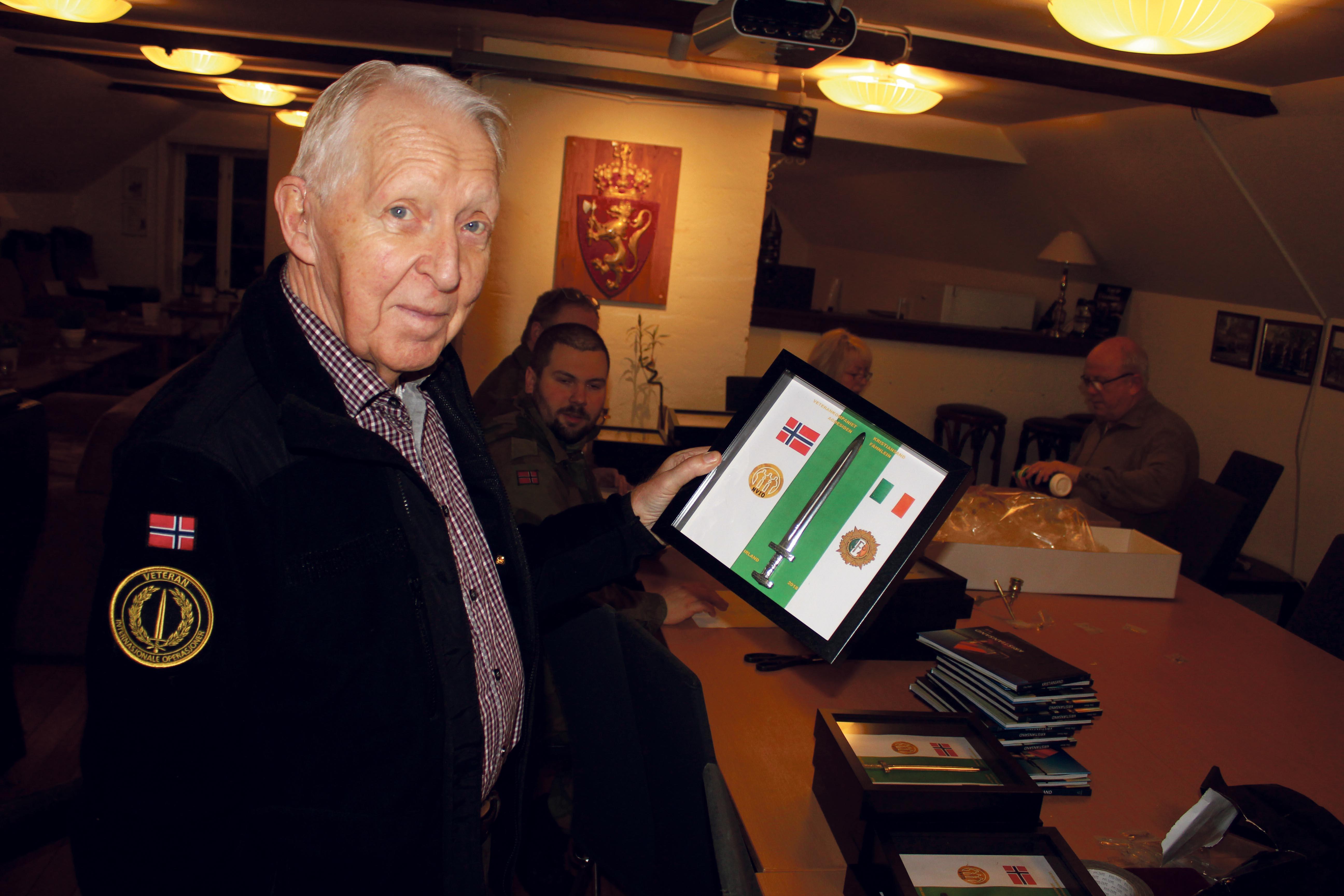 Mye Arbeid Ligger Bak De Fine Bildene De Har Med Seg Fra Odderøya Til Irland, Konstaterer Kompanisjef Jan Larsen.
