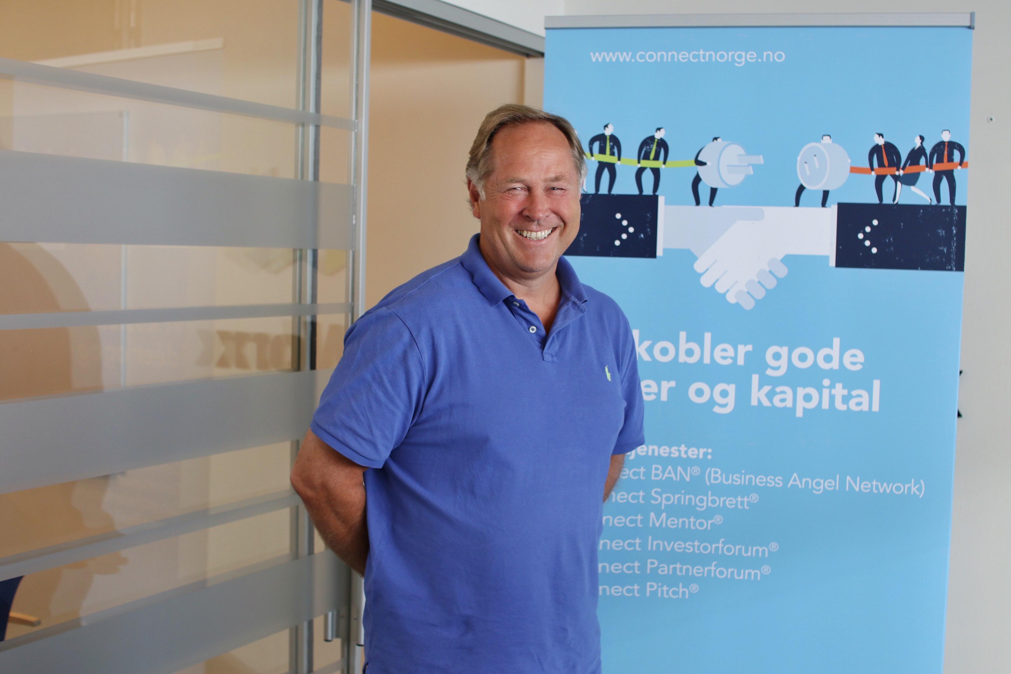 MELLOMMANNEN: Bjørn Erik Aastveit Ved Connect Sørlandet Kobler Gründere Med Potensielle Investorer. Han Har Råd Til Hvordan Du Bør Gå Frem Som Fersk Gründer.