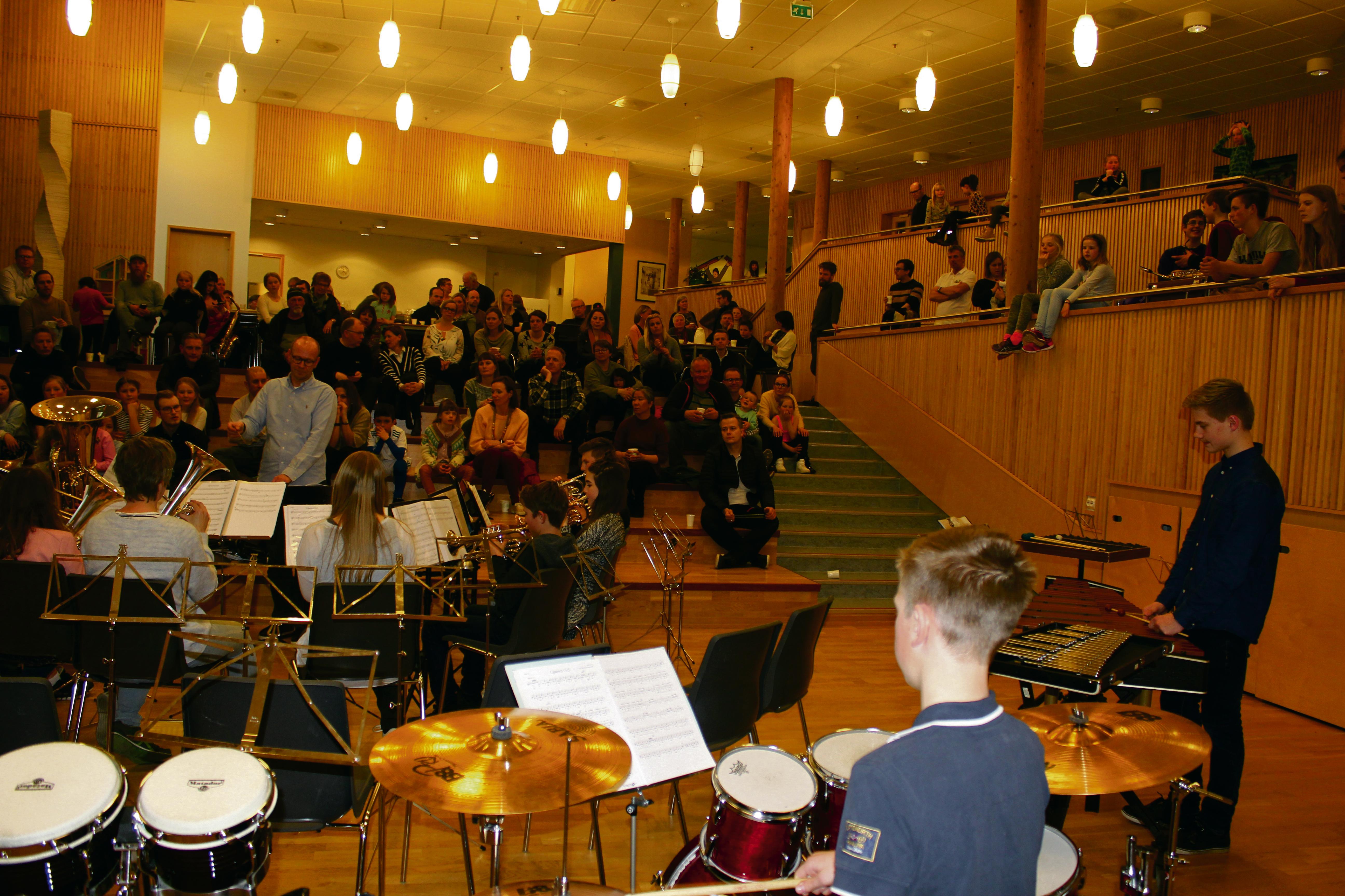 Musikkorpsglede På Fylkesgrensa