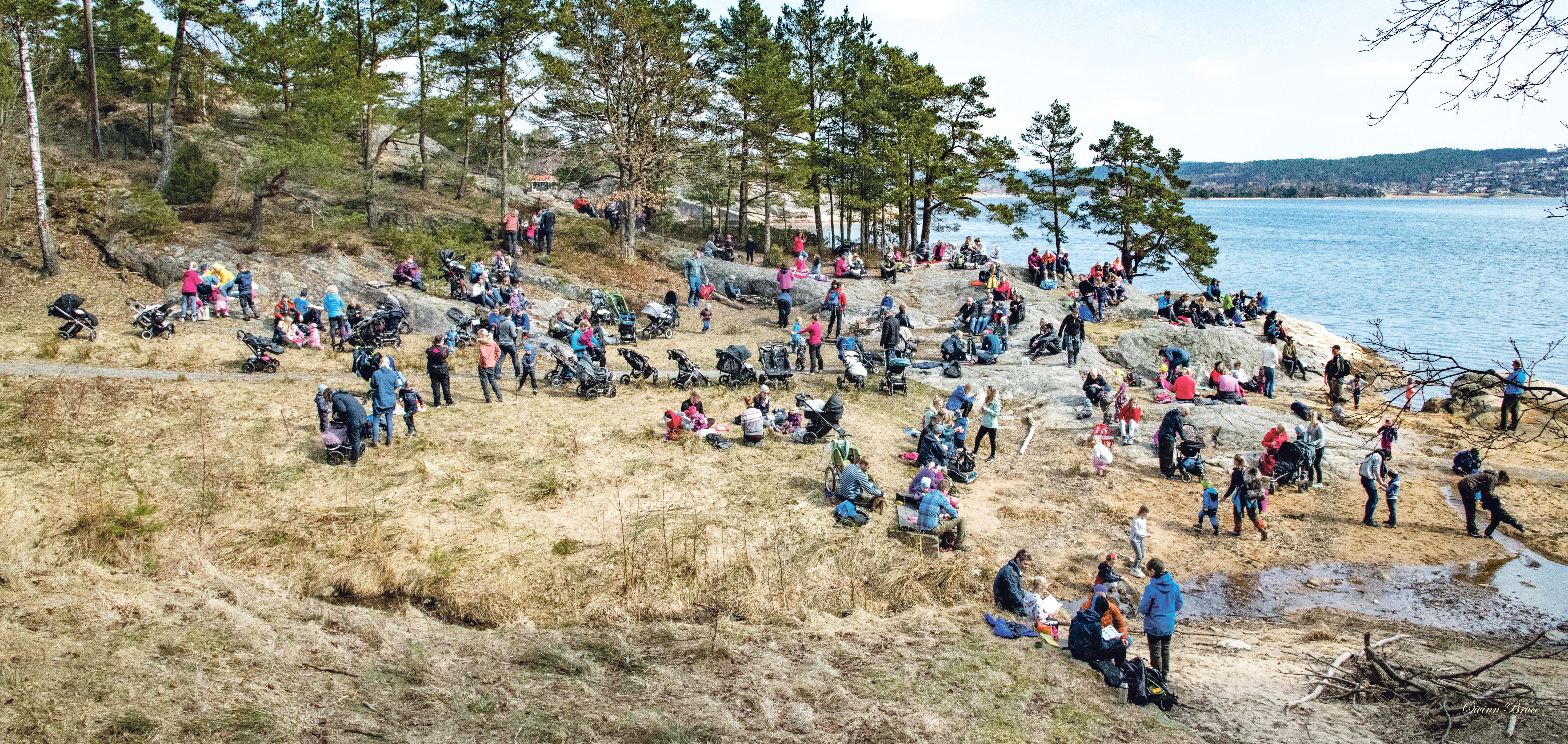 TROLLJEGERE: Rundt 270 Trolljegere Møtte Opp For å Gå Trollstien. Foto: Øivinn Bruce