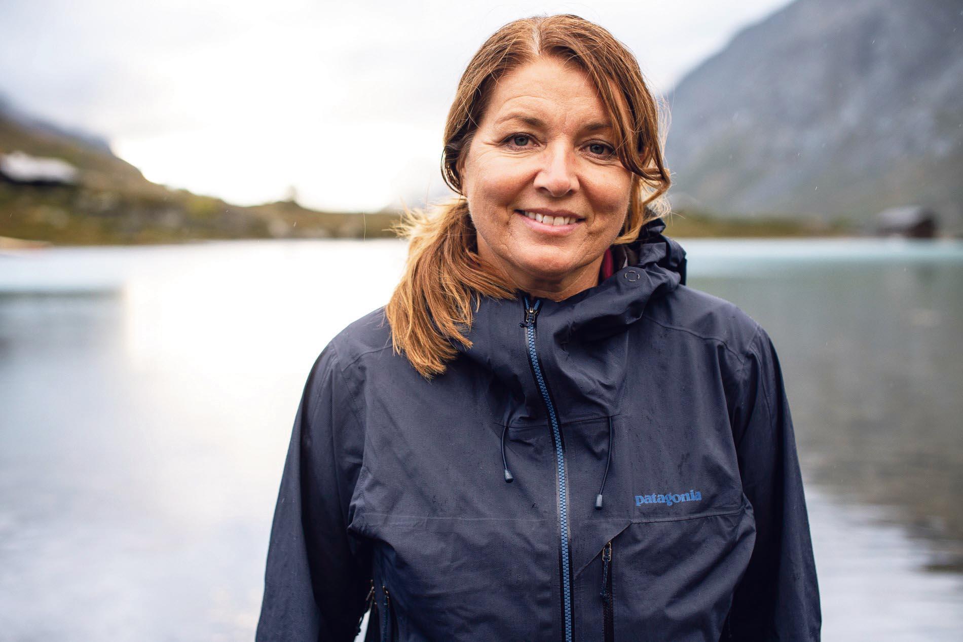 TIL SYDPOLEN: Astrid Furholt Fra Kristiansand Har Gått I Roald Amundsens Fotspor. Foto: Christian Nerdrum.