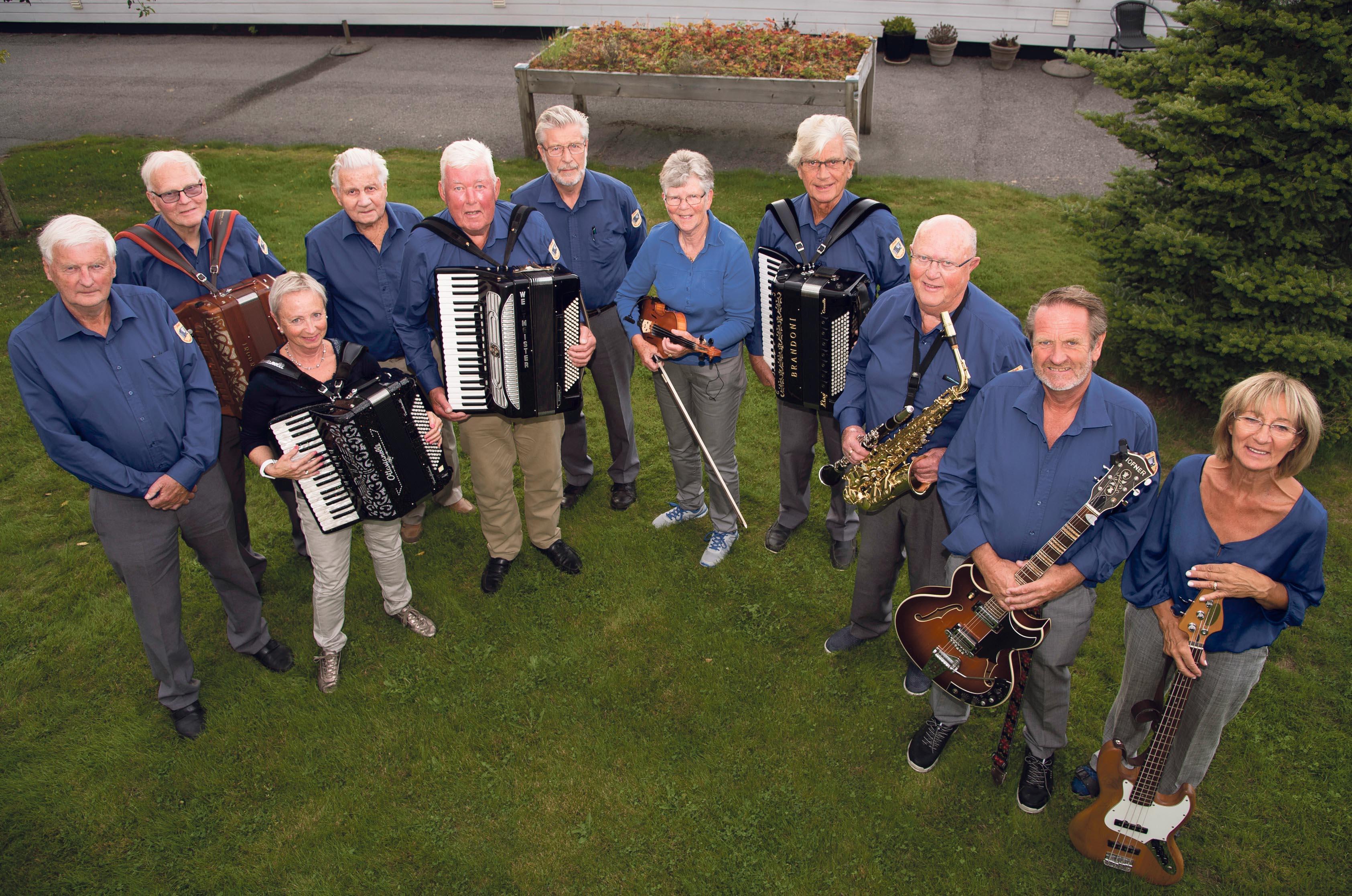 Musikalske Gledesspredere I 40 år