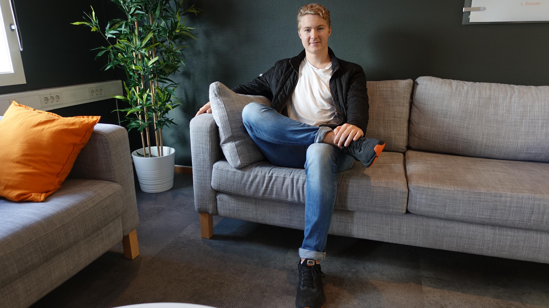 NYVALGT LEDER: Kennet Karlsen (22) Er Den Nye Lederen Av Studentforeningen START UiA Og Håper å Kunne Gi Eksisterende Medlemmer Den Oppmuntringen De Fortjener.