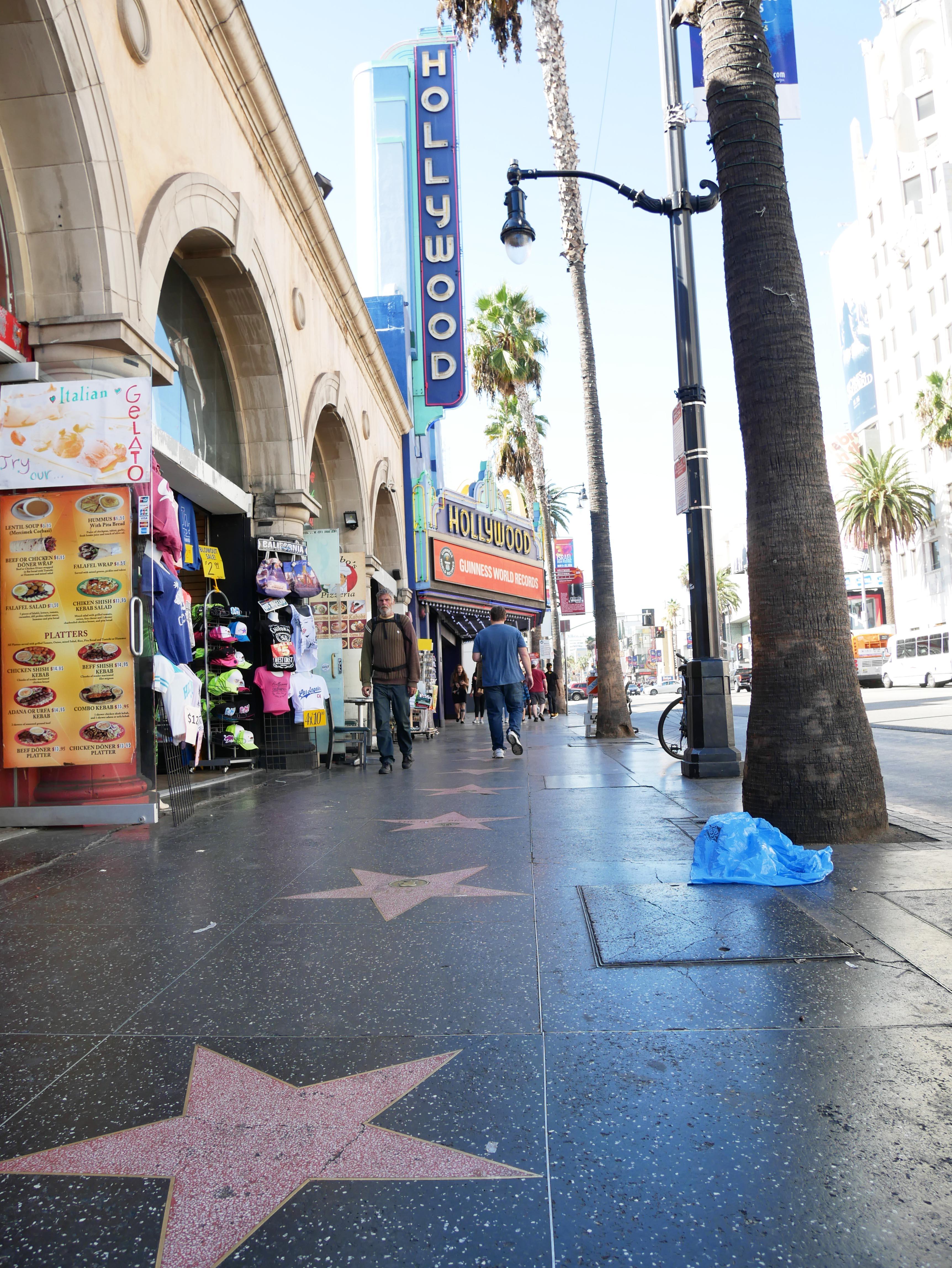 KONTRASTFYLT: Los Angeles, Og Spesielt Hollywood, Er En By Full Av Kontraster På Godt Og Vondt. Foto: Matias Strand Rud.