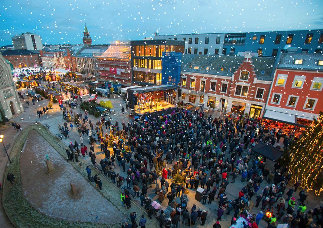 Gratis Julekonsert På Torvet
