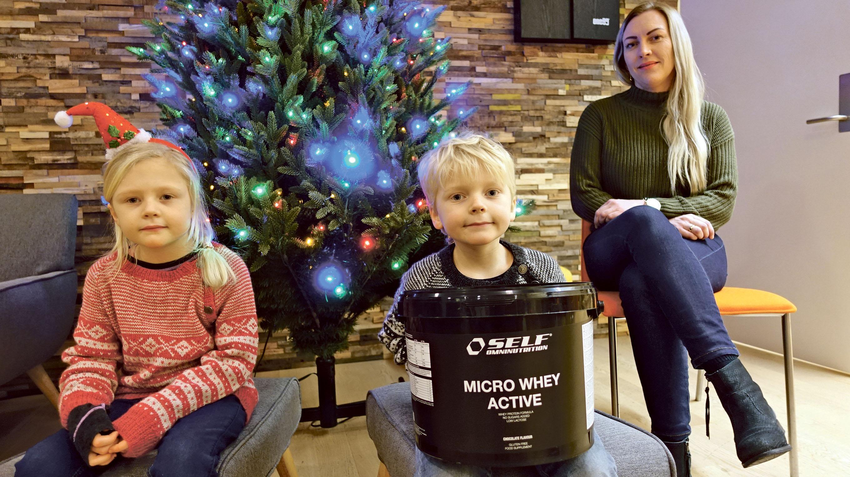 Gavene Forvekslet  – Fikk Mystisk Pulver Til Jul