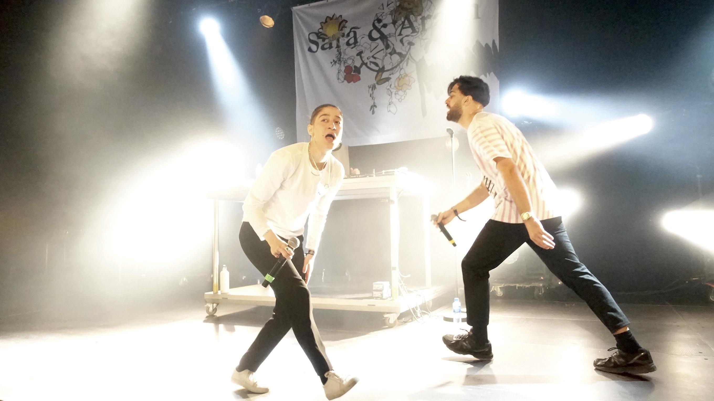 Hip Hop-duoen Fra Kristiansand, Sara & Arash