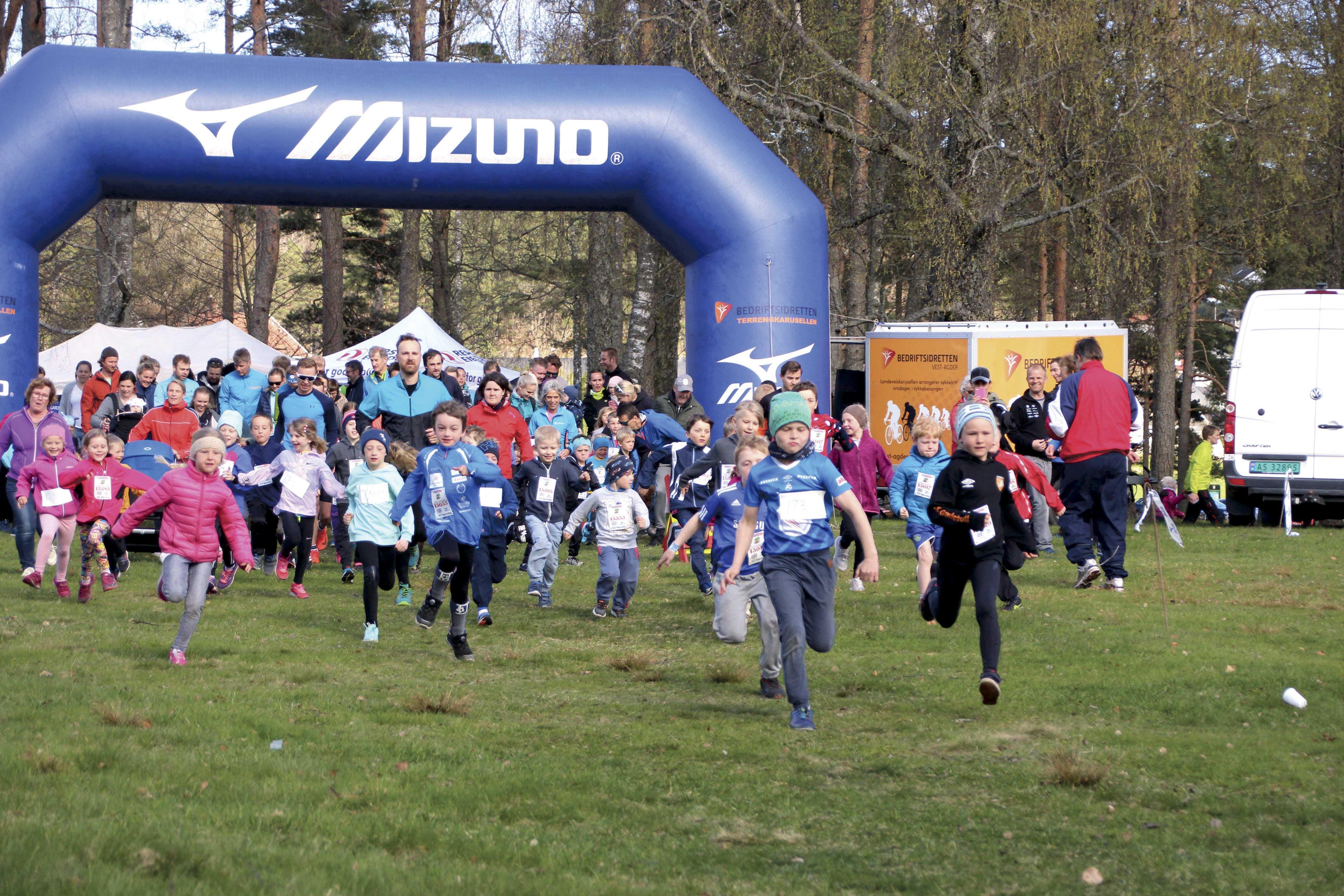 Nr 3. Karusell Løp 4. April Baneheia – Sparebanken Sør Løpet