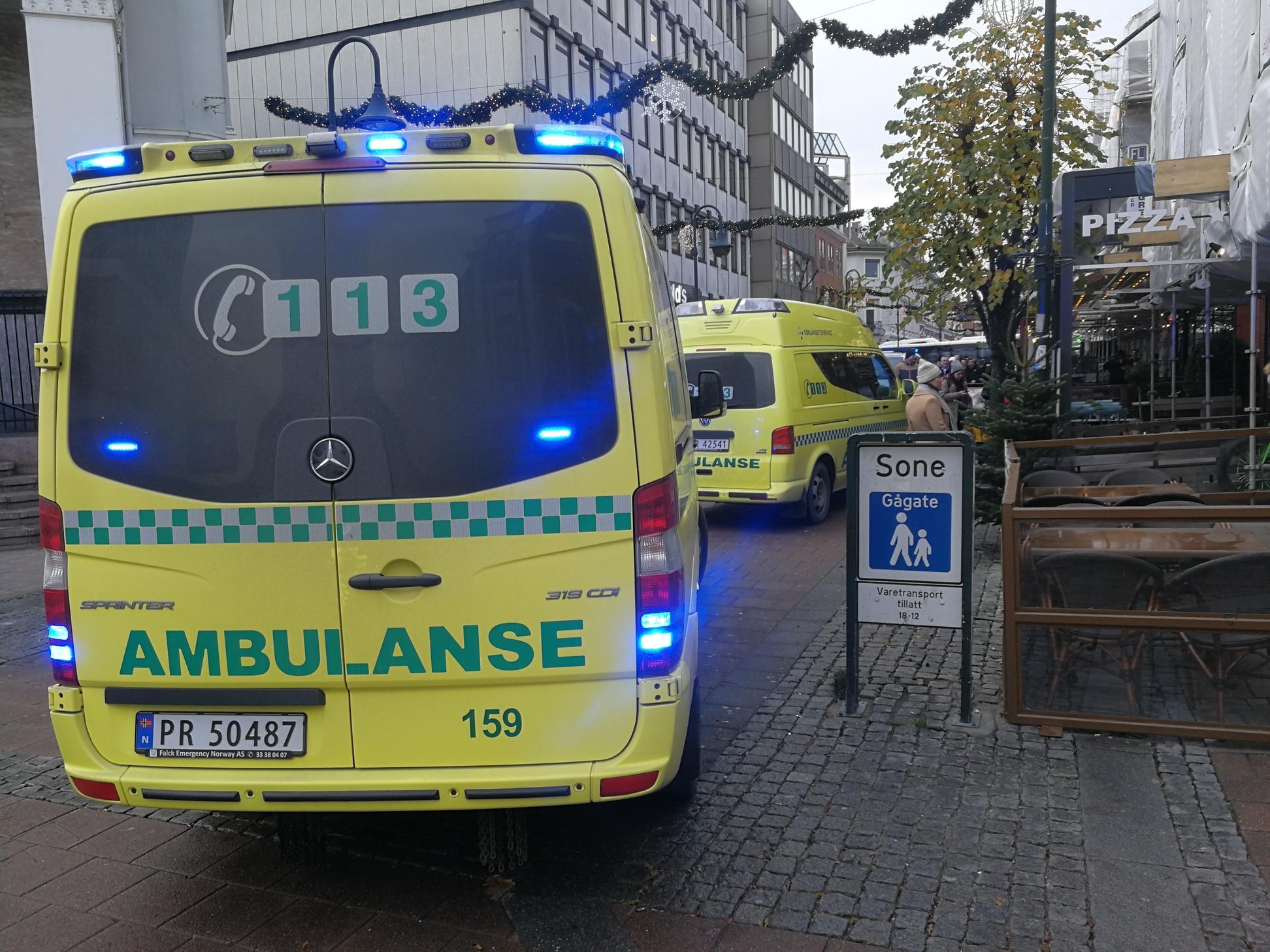 Ville Ikke Bli Med Ambulansen