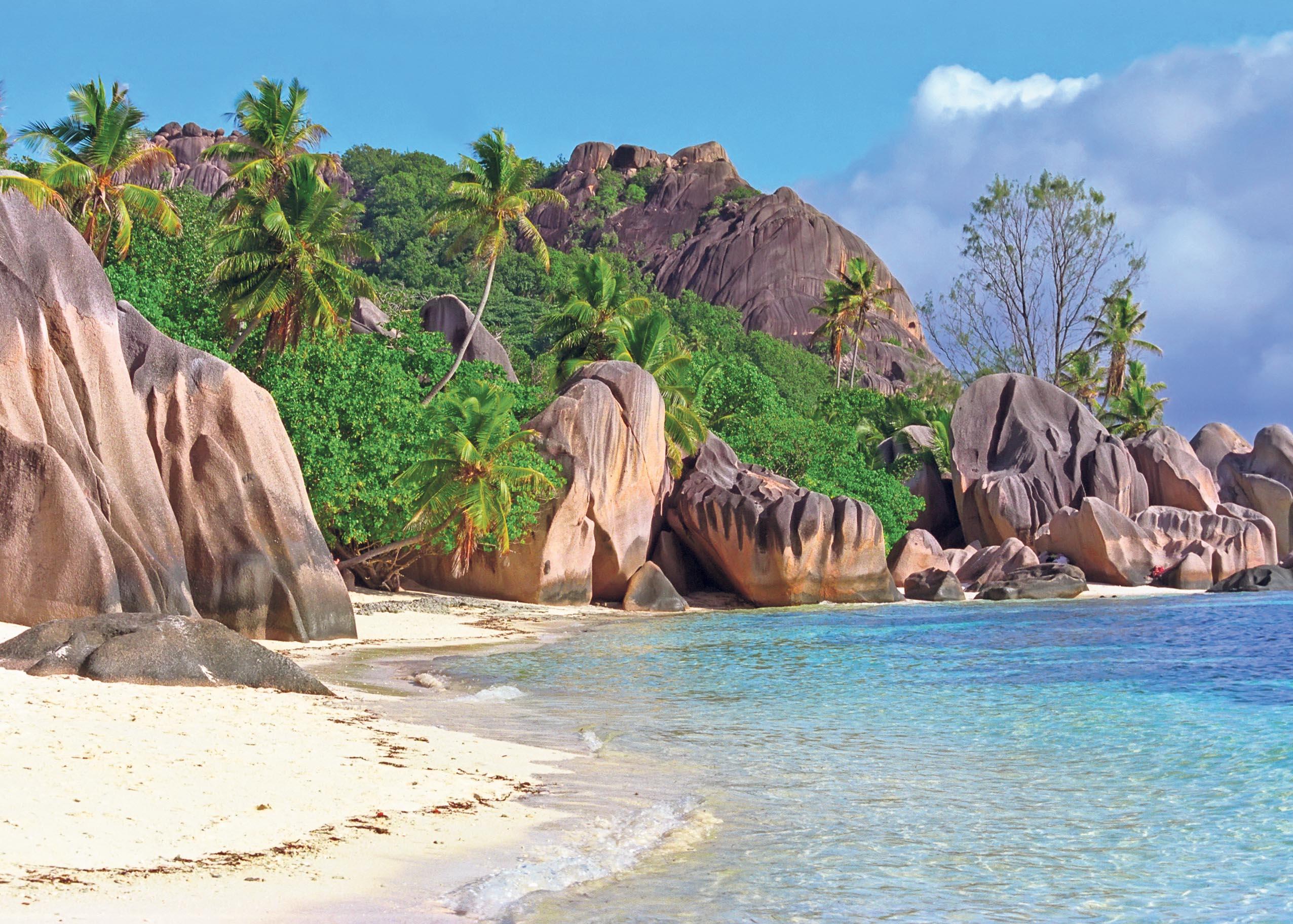 TRUET: Seychellene Er Ett Av øyparadisene Som Er I Ferd Med å Forsvinne Grunnet Klimaendringer. Foto: Colourbox.