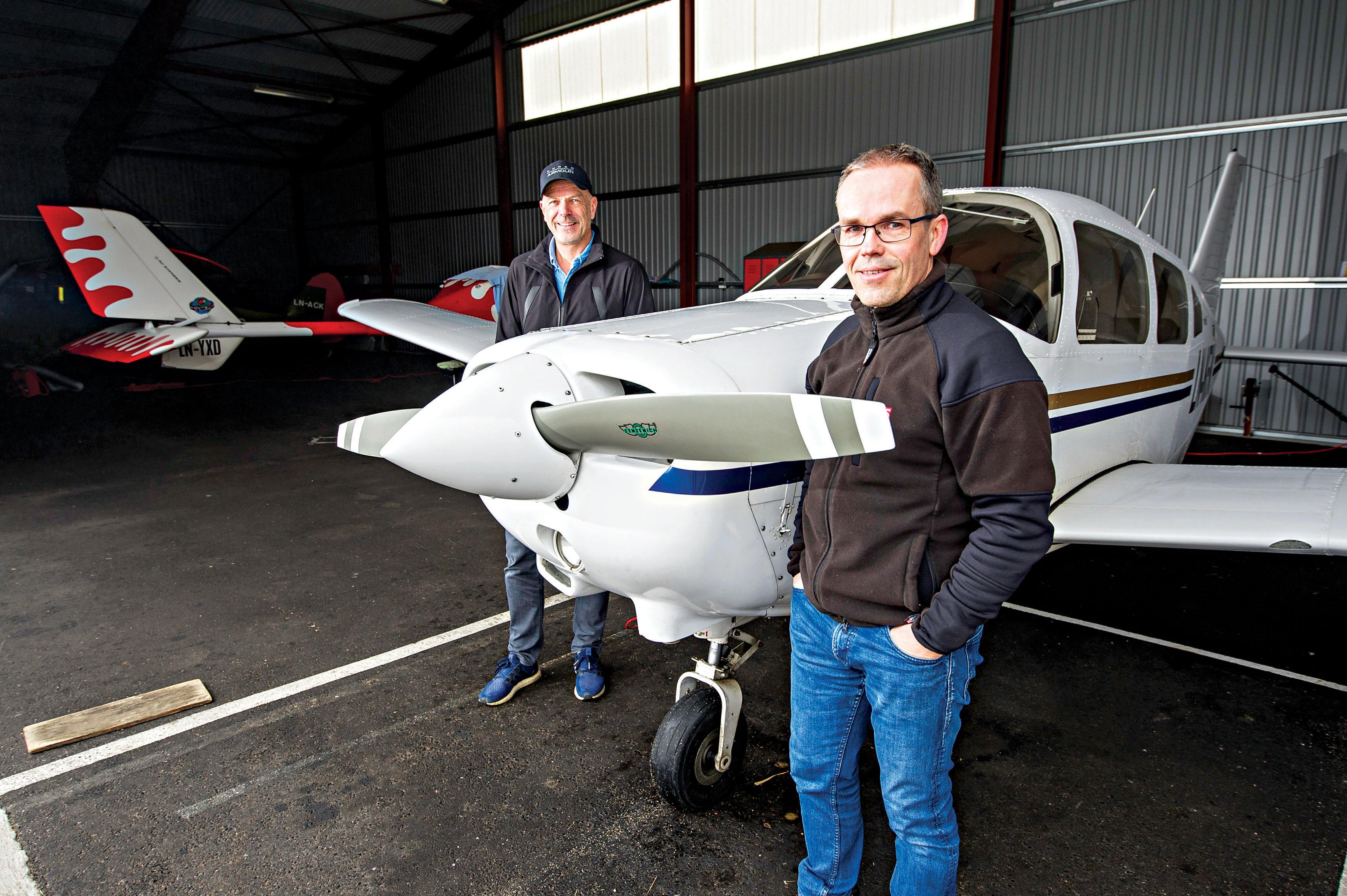 Kjevik Flyklubb: Luftig Moro Under Himmelen