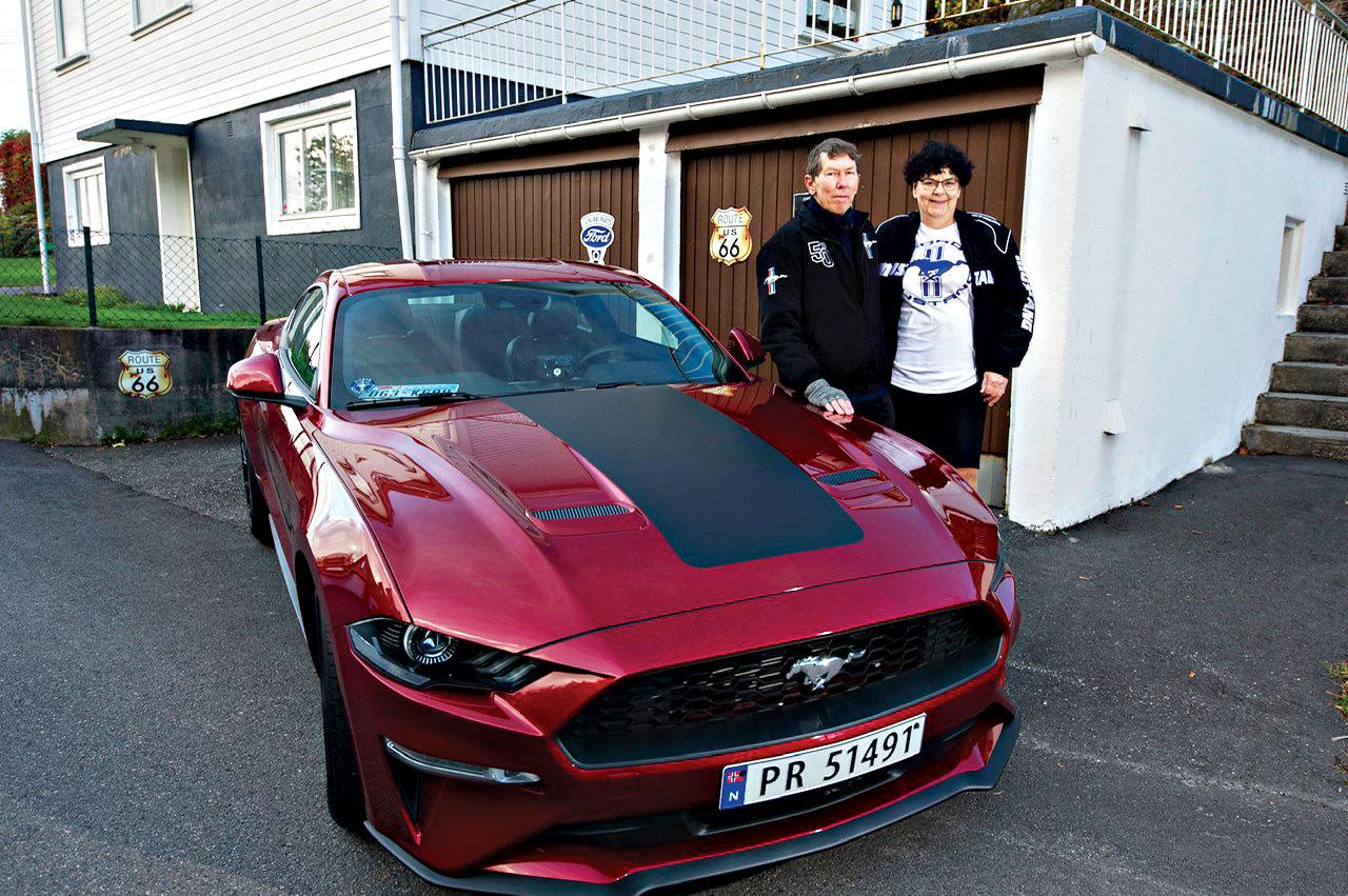 Motor Agder: Ikonet Mustang