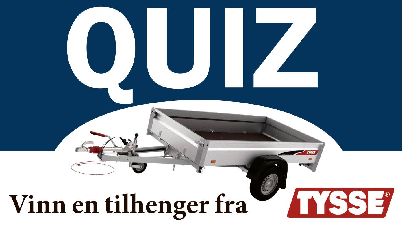 Konkurranse: Fikk Du Med Deg Siste Utgave Av Motor Agder? På Side 31 Finner Du Vår Spennende Quiz.