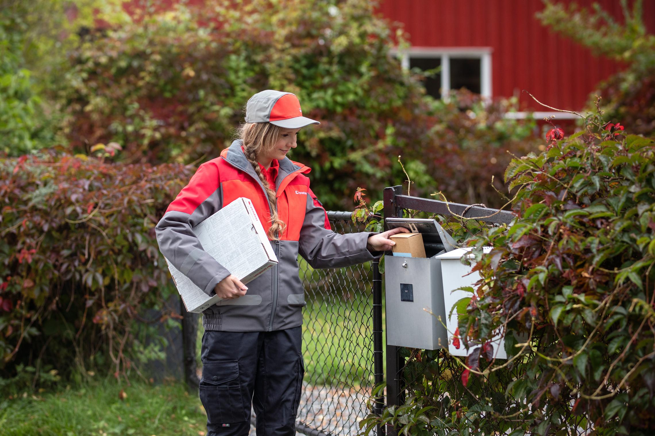 ENKELT: Det Er Nå Blitt Enklere å Sende Og Motta Pakker. Foto: Kimm Såtvedt