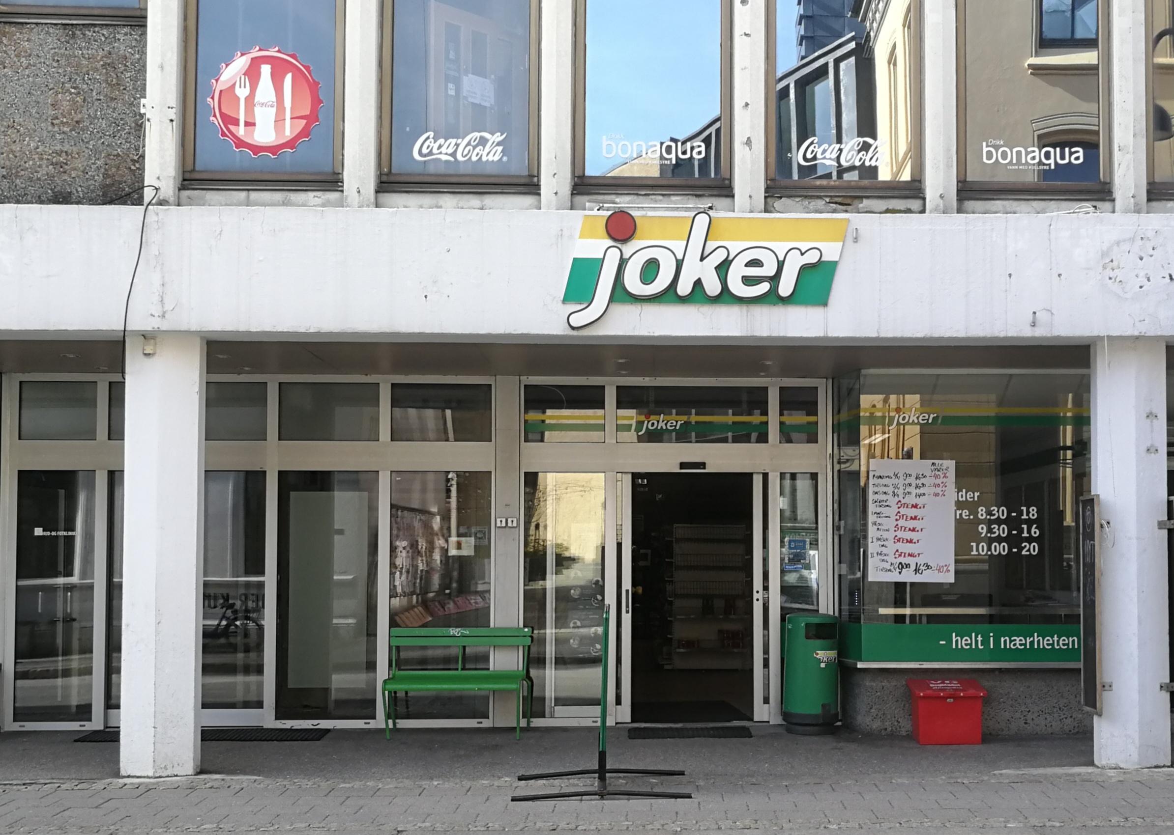 FLYTTER: Joker Skippergata Må Flytte Fordi Bygget Skal Rives. Butikken Får Nye Lokaler I Lille Markens.
