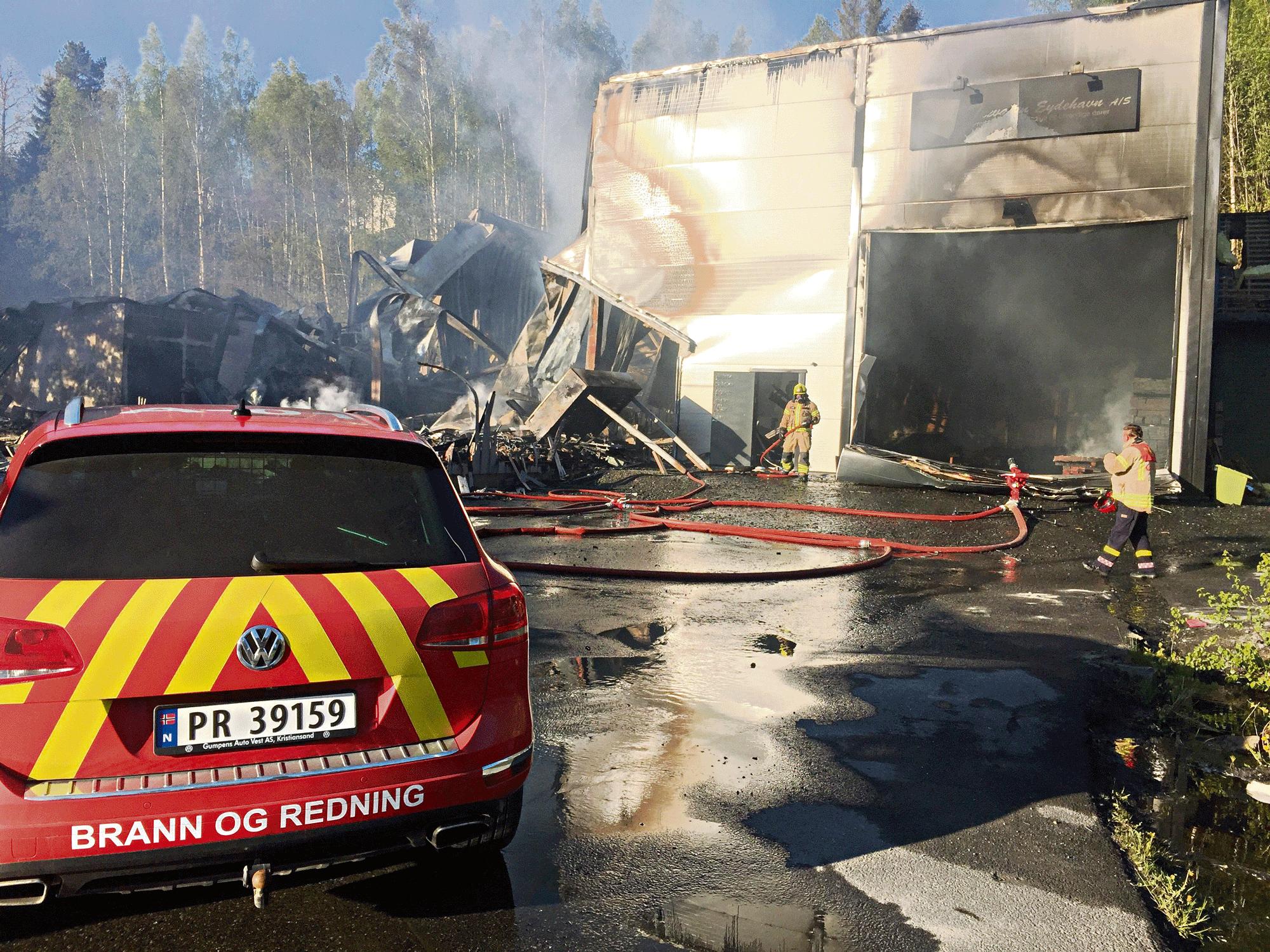 Brann I Eydehavn