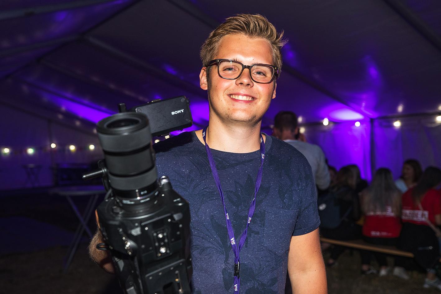 GRÜNDER: Fredrik Opheim, Som Er Tidligere Gründer Av Filmproduksjonsselskapet Batfis,h Er Nå I Gang Nytt Prosjekt. FOTO: Markus Hausevik Johnsen