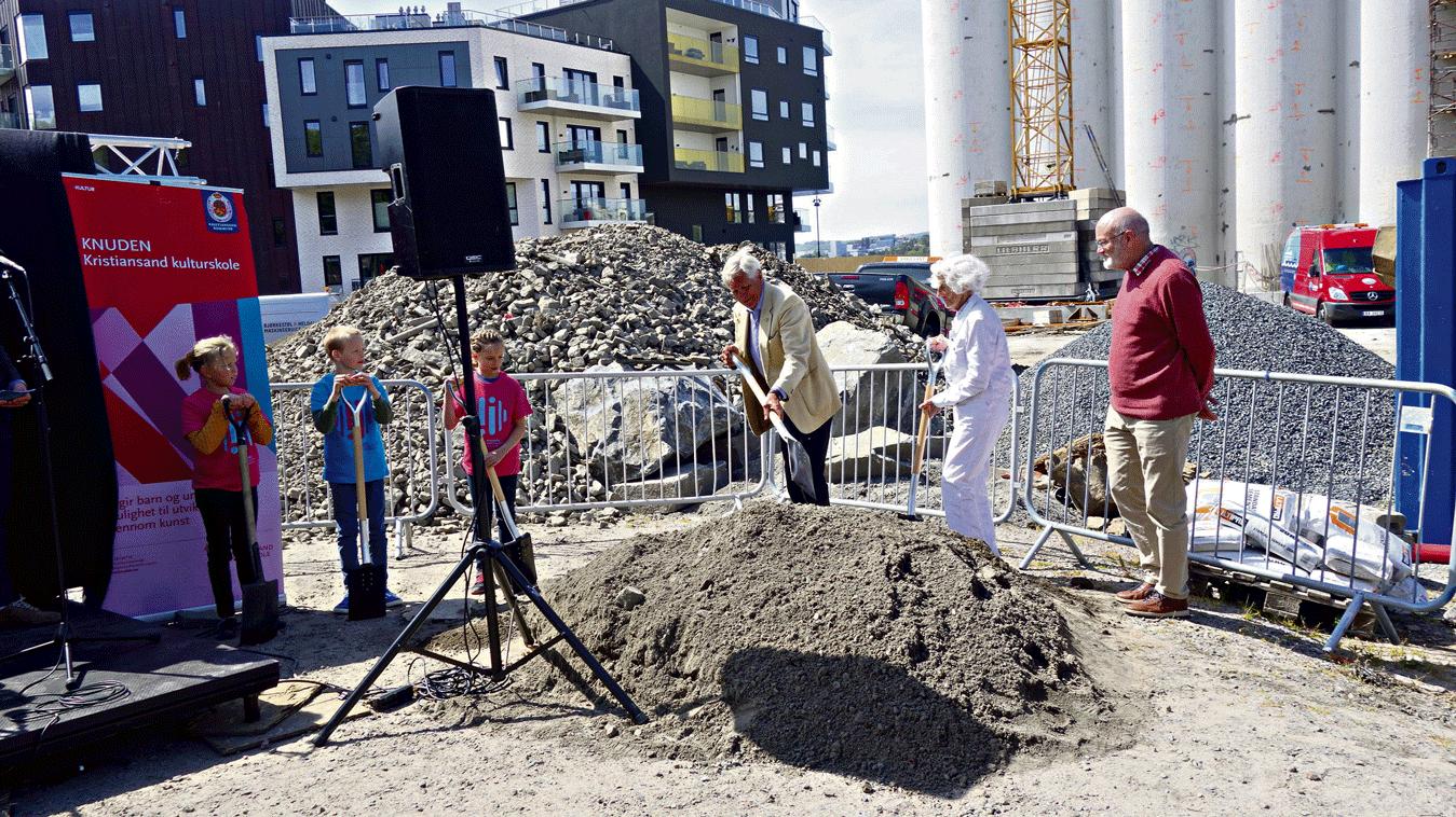 Bygging Av Ny Kulturskole Offisielt Startet